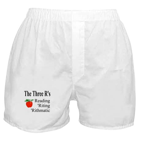 The Three R's Boxer Shorts
