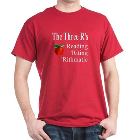 The Three R's Dark T-Shirt