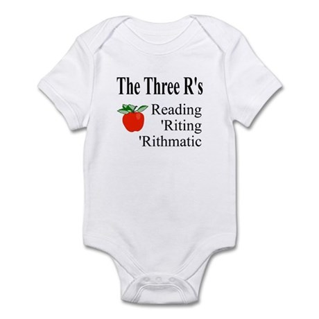 The Three R's Infant Bodysuit