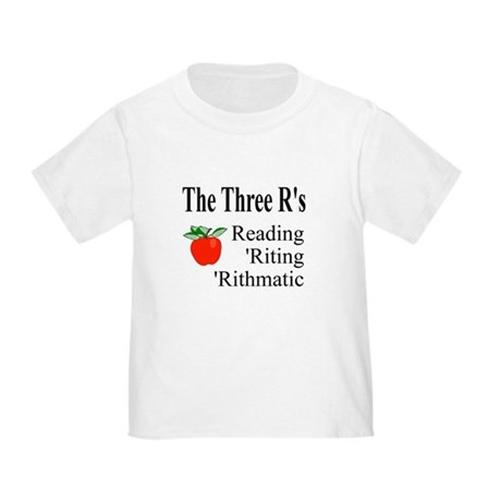 The Three R's Toddler T-Shirt