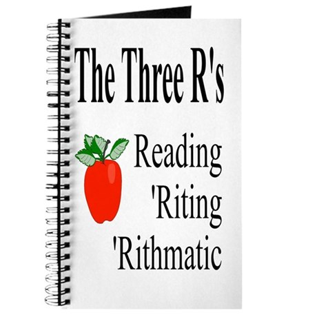 The Three R's Journal