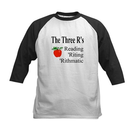 The Three R's Kids Baseball Jersey