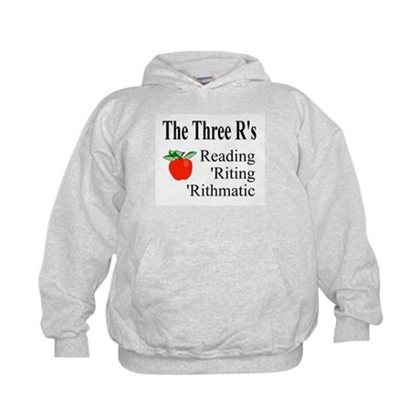 The Three R's Kids Hoodie