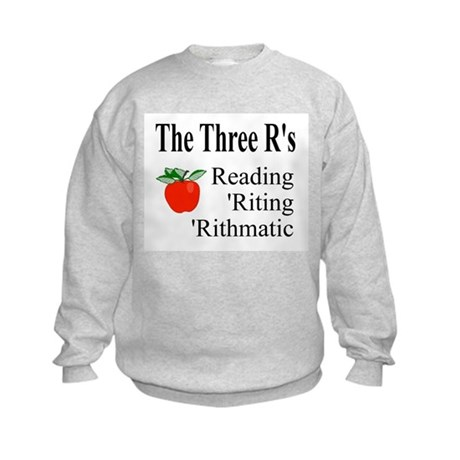 The Three R's Kids Sweatshirt