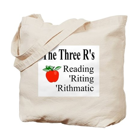 The Three R's Tote Bag