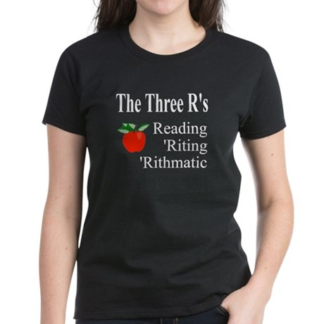 The Three R's Women's Dark T-Shirt