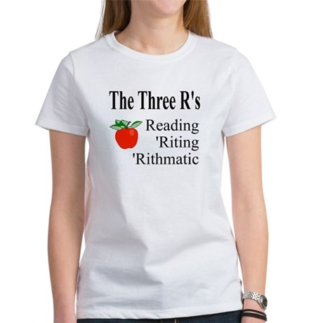 The Three R's Women's T-Shirt