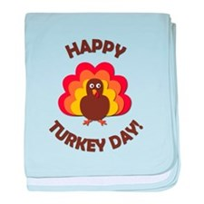 Happy Turkey Day! baby blanket