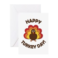 Happy Turkey Day! Greeting Card