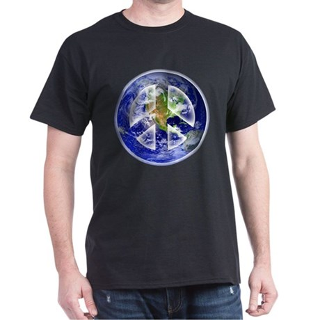 Peace on Earth Dark T-Shirt