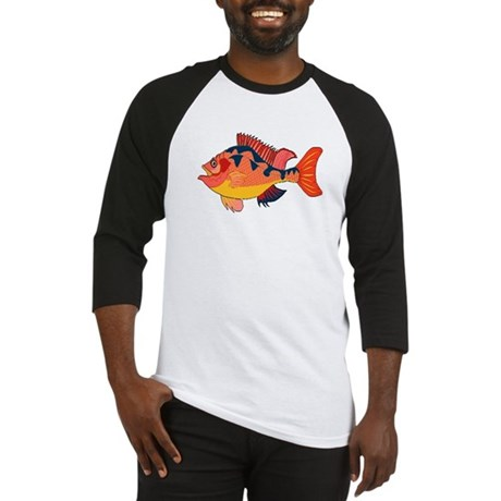 Colorful Fish Baseball Jersey