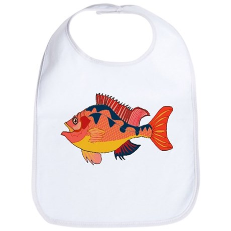 Colorful Fish Bib