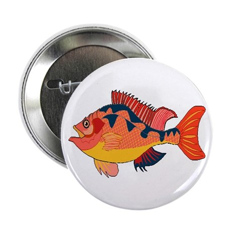 "Colorful Fish 2.25"" Button (10 pack)"