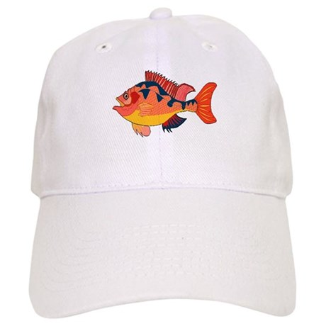 Colorful Fish Cap
