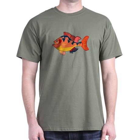 Colorful Fish Dark T-Shirt