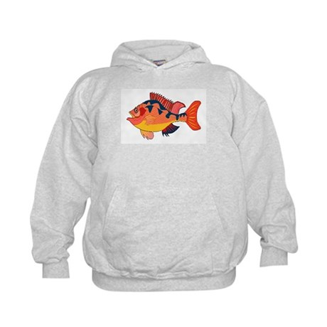 Colorful Fish Kids Hoodie