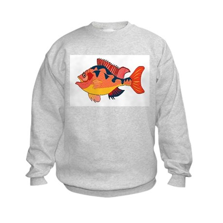 Colorful Fish Kids Sweatshirt