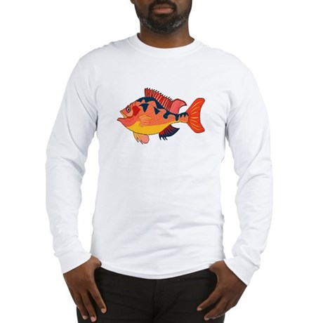 Colorful Fish Long Sleeve T-Shirt