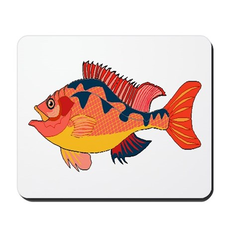 Colorful Fish Mousepad