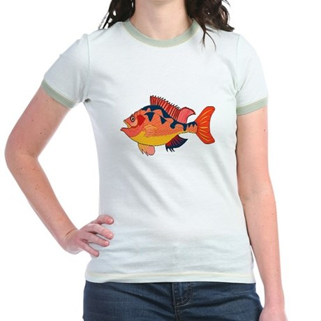Colorful Fish Jr. Ringer T-Shirt