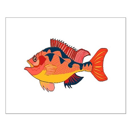 Colorful Fish Small Poster