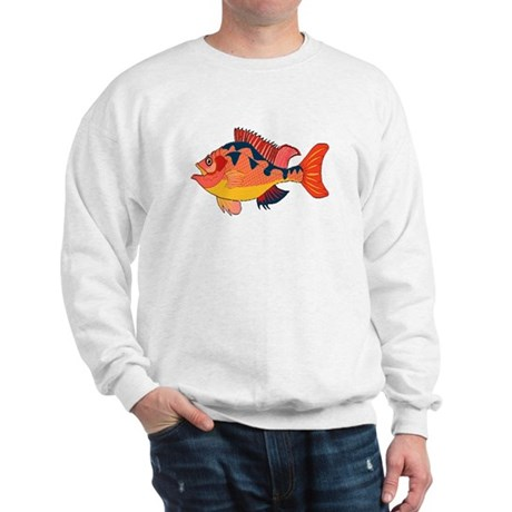 Colorful Fish Sweatshirt