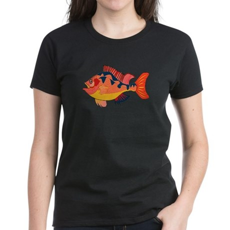 Colorful Fish Women's Dark T-Shirt