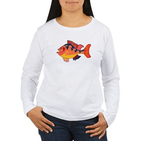 Colorful Fish Women's Long Sleeve T-Shirt