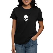 Hair Stylist Skull and Shears Crossbones T-Shirt