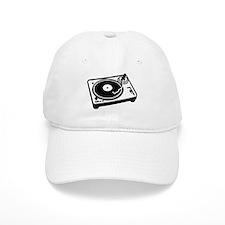 Turntable DJ Baseball Cap