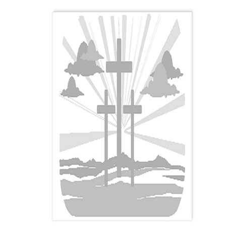Calvary Postcards (Package of 8)