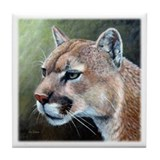 Cougar Tile Coaster