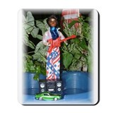 Patriotic James Brown Mousepad