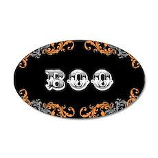 Halloween Boo 35x21 Oval Wall Decal