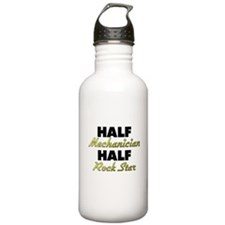 Half Mechanician Half Rock Star Water Bottle