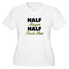 Half Mayor Half Rock Star Plus Size T-Shirt