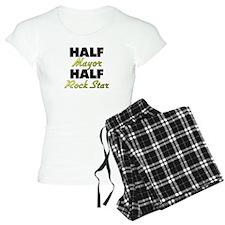 Half Mayor Half Rock Star Pajamas