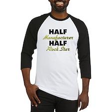 Half Manufacturer Half Rock Star Baseball Jersey