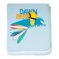 Dawn Patrol Venice Beach baby blanket