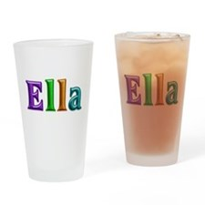 Ella Shiny Colors Drinking Glass