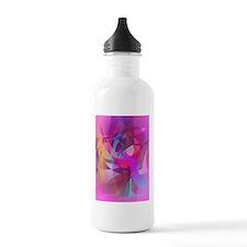 Eggplant Fairy Art Water Bottle