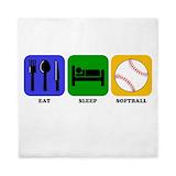 Softball bedding Queen Duvet Covers