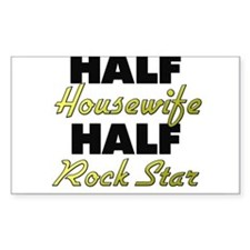 Half Housewife Half Rock Star Decal