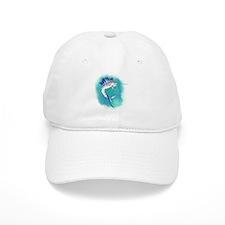 Watercolor Sailfish copy Baseball Baseball Cap