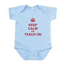 Keep Calm And Teach On Body Suit