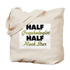 Half Graphologist Half Rock Star Tote Bag