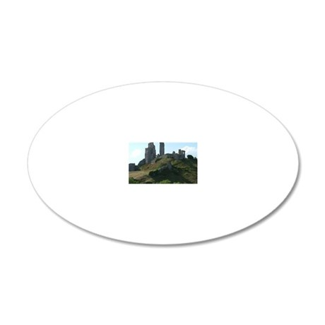 Swanage 20x12 Oval Wall Decal