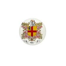 Burke Family Crest Mini Button