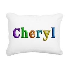 Cheryl Shiny Colors Rectangular Canvas Pillow