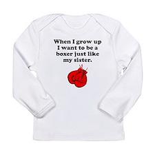Boxer Like My Sister Long Sleeve T-Shirt